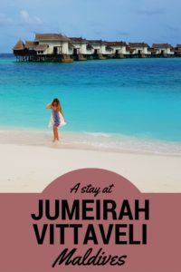 A stay at Jumeirah Vittaveli Resort Maldives – Luxury Review